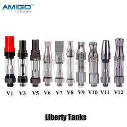 100% оригинал iTsuwa Amigo Liberty V1 V5 V6 V7 V8 V9 V10 V11 V12 стеклянный бак керамическая катушка толщиной масло CE3 картридж атомайзер от