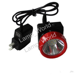 Wholesale Miners Cap Lamps - Free Shipping LD-4625 LED Miner Safety Cap Lamp LED Mining Light High Safety with Car Charger