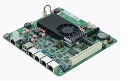 4 carte mère 1000M Firewall atomique D2550 1U Firewall carte mère, firewall mini-itx carte mère DC 12V alimentation ? partir de fabricateur