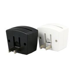 Sensor de base online-Mini RGB LED Base de lámpara Built-in Light Sensor US Enchufe de pared US Socket 7 RGB Lights para placa de acrílico