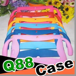 1 pcs Enfants Doux En Caoutchouc De Silicone Gel Couverture Pour 7 pouces Q88 A13 A23 A33 Q8 Tablette Android ? partir de fabricateur