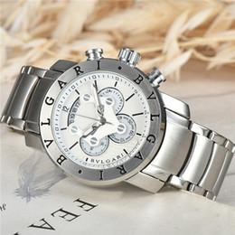 Canada Vente chaude en acier inoxydable mode de luxe exquise regarder tous les pointeur de travail diamètre 45mm Jidian regarder célèbre montre pour hommes supplier exquisite watches for men Offre
