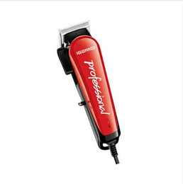 Kit de palanca online-Corded Professional Hair Clipper palanca Eléctrica Hair Trimmer para hombres barbero cortador de pelo kit de corte máquina corte de pelo adulto niño