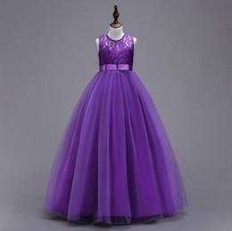 NOUVEAU 10 couleur européenne et américaine nouvelle arrivée fille princesse robe en dentelle de robe de mariée fille casual élégante une robe lolita ? partir de fabricateur