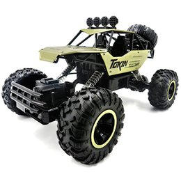 radio control trucks Promo Codes - 1:12 4WD Cars 37cm Alloy 2.4GHZ Radio Control RC Trucks Super Power Toy High Speed Trucks Off-Road Gift Toys for Children