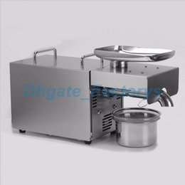 Wholesale Nut Seeds - 2017 NEW Automatic Olive Oil Press Machine Nuts Seeds Oil Presser Pressing Machine All Stainless Steel 110 220V JF-817