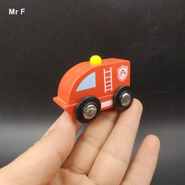 Wholesale Toy Fire Truck Models - Interesting Wooden Car Toy Children Gift Fire Truck Model Toy Child Early Development And Education Game