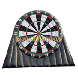 Wholesale darts sets - Foot Darts Set High Quality 3m 4m 5m 6m Inflatable Foot Darts Game with Blower Free Shipping