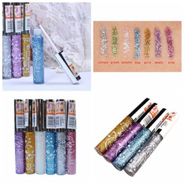 shining light Coupons - 2016 Hot Color Pencils Eye Liner Makeup Natural Waterproof Shimmer White Gold Silver Make Up Liquid Shining Glitter Eyeliner