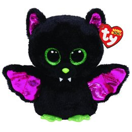 "Ty Beanie Boos Peluche Bambola animale Igor Black Bat Soft Peluche con Tag 6 ""15cm da"