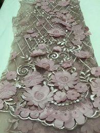 Son afrika Için Tül dantel 2018 Fransız Net Dantel Kumaş Düğün Moda Nakış elbise CDN49 için afrika dantel kumaş nereden