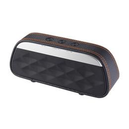 2019 haut-parleurs bluetooth haut de gamme Haut-parleur Bluetooth Bon son haut de gamme en cuir Home Theater portable sans fil Haut-parleur Super Bass Stéréo Portable Haut-parleur de voiture haut-parleurs bluetooth haut de gamme pas cher