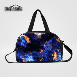 084b5d41a173 Dispalang Large Travel Bag for Women Men Hand Luggage Bag Universe Galaxy  Star Print Travel Duffle Bags Shoulder Weekend
