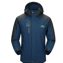 Wholesale Gore Tex Waterproof Jacket - 2017 New Spring Autumn Mens Softshell Hiking Jackets Male Outdoor Camping Trekking Climbing Coat For Waterproof Windproof VA002