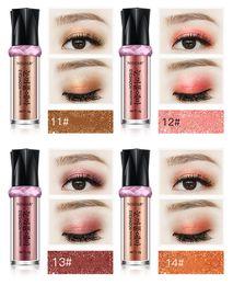 Contorno, olho, sombra on-line-Venda de fábrica NISOAR Em Pó Shimmer Contour Party Makeup sombra de olho