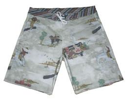 Mode 4-Way Stretch Beachshorts Hommes Spandex Coton Bermudas Shorts Élastique Taille Shorts Board Homme Casual Boardshorts ? partir de fabricateur