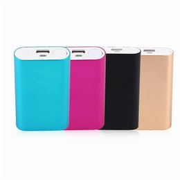 Canada Portable rapide de charge USB externe Power Bank 2 * 18650 batterie Powerbank Supply chargeur adaptateur pour téléphones intelligents cheap smart phone battery charger Offre