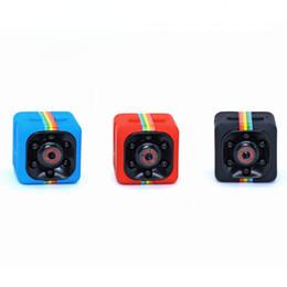 Wholesale Night Vision Infrared Car Camera - SQ11 Mini Camera HD 1080P Night Vision Camcorder Car DVR Infrared Video Recorder Sport Digital Camera Support TF Card DV Camera