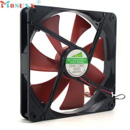 Wholesale Quiet Air - ecoisin2 Mosunx Best silent quiet 140mm pc case cooling fans 14cm DC 12V 4D plug computer cooler 17mar20