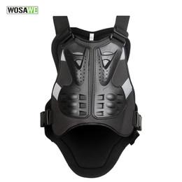 WOSAWE Moto Body Armor Vest Motocross Petto posteriore Protector Gear Racing Body-Guard Armor PE Protezioni Back Support supplier body armor vests da giubbotti per corpi del corpo fornitori