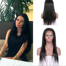 130% Yoğunluk Tam Dantel Peruk Kinky Düz Perulu Bakire İnsan Saç Koparıp Başına Ön Dantel Peruk G-EASY nereden