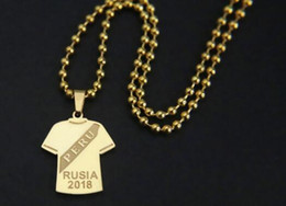Wholesale national stainless - 2018 World Cup stainless steel pendant national custom award presentation,festivals,exhibitions,advertising promotions, business Souvenirs