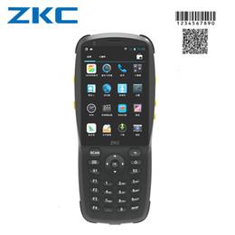 3g компьютеры Скидка Оригинальный ZKC PDA3501 Сканер штрих-кода Android карманный компьютер WIFI USB Bluetooth 3G Android устройство