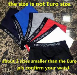 Wholesale Boxers Underwear - Men Underwear Boxers 100% Cotton Breathable GA Underpants Shorts Luxury Brand Design 6 Colors M-2XL ga 2018hot