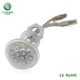 Wholesale parking cover - 12v ucs1903 9leds 45mm rgb pixel module led 12v lamp amusement park,diameter 45mm,9LEDs module,waterproof IP67,transparent cover