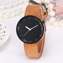 Wholesale Japan Movement Wrist Watch Steel - Military Brand Natural Simple Watch for Gentlemen Japan Quartz Movement Mens Women Wrist Watches with Black Sandalwood Mixed Style