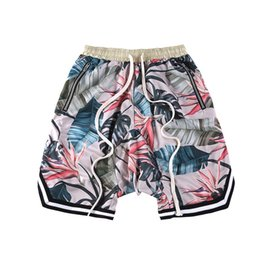 Discount fashion collection men - Fear Of God Shorts New Floral The 1987 Collection Justine Bieber Fearofgod Beach Mesh Shorts Summer Style Fear Of God Short