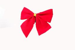 ragazze di moda giocattoli Sconti 12pcs / lot arco di natale regalo bambino bambini ragazzi ragazze giocattolo paillettes new fashion piccolo arco pendente decorativo