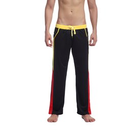 Wholesale Home Sports Pants Men - Men's Relaxed Sports and Casuals Trousers Pants Nylon Comfortable Soft Fashion Charming Underpants Home Men Sleep Bottoms
