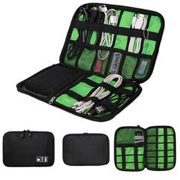 cargar billetera Rebajas PowerBank Bag Wallet Bag Travel 2017 Cable Organizer Accesorios para auriculares Cargador Cable de carga para monedero
