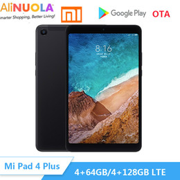 "tableta dual core a23 Rebajas Original Original Xiao Mi Pad 4 Plus Tablet PC 10.1 ""Snapdragon 660 Octa Core ID de cara 1920x1080 13MP + 5MP 1920x1080 wifi LTE Tablet PC"