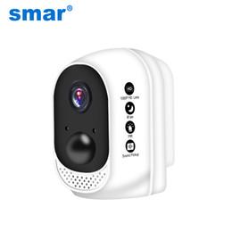 Wireless cam battery on-line-Smar 1080 P HD Sem Fio Wi-fi Câmera 10400 mAh Bateria De Polímero De Lítio Ao Ar Livre Indoor Segurança IP Cam PIR Detector de Movimento