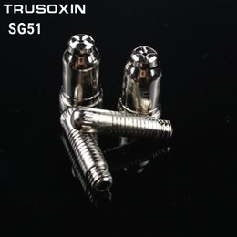 20 unids SG51 Consumibles (50 tps + 50 electrodos) para 60a inversor DC Aire Plasma cortador Accesorios para SG51 antorcha de corte / pistola desde fabricantes
