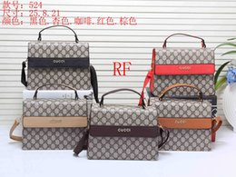 Wholesale large shoulder strap bags - 2018 New style Cute Brand designer women handbags crossbody shoulder bags totes handbag 9 colors chains straps handbags with tags wallets 01