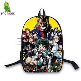 backpacks color gold for women Coupons - My Hero Academia Allmight Deku Shoto Backpack Women Men Daily Backpack Large Capacity School Bags for Teenagers Travel Rucksack