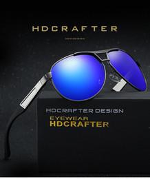 Wholesale Two Color Frame Glasses - free box hot sale Men Driving Two-color sunglasses full frame Eyeglass eyewear polarized sunglasses men's sports riding glasses A331