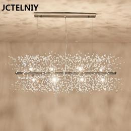 Nouveau lustre en cristal à la mode et brillant LED lustre restaurant lampe décoration chaude ? partir de fabricateur