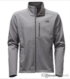 Wholesale classic casual jacket men - EMS free shipping Men's Outdoor Classic denali Fleece Hooded Fashion Jacket Windproof face north amercian winter hoodies coat