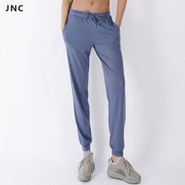 активные женщины одежда Скидка JNC активная дышащая сетка бегуном брюки для женщин работает тренировки одежда йога брюки Спорт фитнес одежда