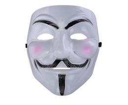 princesa pelo ups Rebajas Máscara de la venganza del horror de Halloween máscara del tema de la película V de Vendetta V Cara Masquerede Custume Máscara envío libre barato