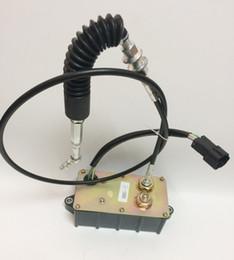 Motor del acelerador del excavador online-¡Envío gratis rápido! AC2000 / AC1000 Conjunto de motor paso a paso 001135 para excavadora Sany, piezas de excavadora, conjunto de motor del acelerador del excavador