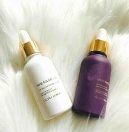 Bases hidratantes online-Nuevo 24k Rose Gold ESSENCE Elixir Essential Oil foundation Hidratante Cuidado de la piel facial Edición de 3 tipos Envío gratis