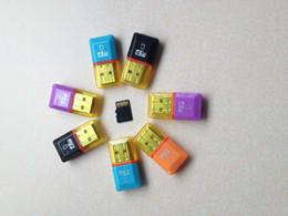 lecteur de carte micro sd de 32 go Promotion 100Pièce / lot USB 2.0 lecteur de carte mémoire T-flash TF carte lecteur de carte micro SD adaptateur 8 Go 16 Go 32 Go 64 Go livraison gratuite