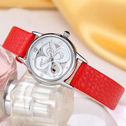 Wholesale Ladies Waterproof Watch Blue - 2017 new foreign trade single watch wholesale true belt ladies student waterproof quartz watch wechat business goods source manufacturers.