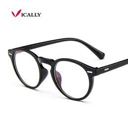 9dc4b47772 Retro Round Eyeglasses Frame Brand For Women Fashion Men Optical eye  glasses Frame Eyewear Oculos De Grau Armacao Femininos