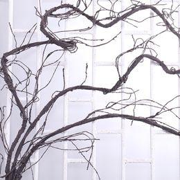 fiori artificiali Matrimonio casa Decor vero tocco ramo di albero platic per la decorazione Appeso in rattan decorazione flessibile fiore decorazione della vite da